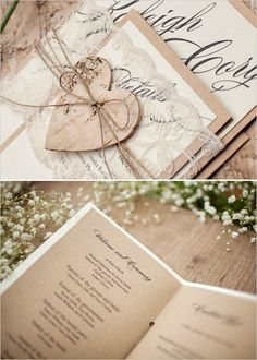 Super cute rustic wedding decor and stationery! Plus, enter to win $150 from For Love Polka Dots #weddingchicks http://www.weddingchicks.com/2014/08/19/stylish-rustic-wedding-ideas/