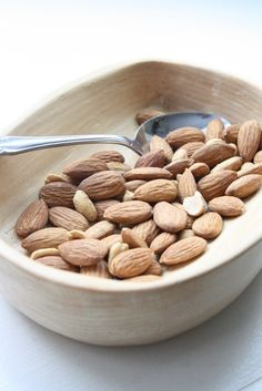 Almonds are packed with antioxidants, vitamins and minerals, high levels of zinc and magnesium and selenium—and a huge amount of energy. They are a great hangover food!