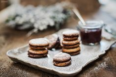 Hadn Keks: Buchweizen Kekse mit Zimt Cake & Co, Buckwheat, Fodmap, Winter Food, Cakes And More, Christmas Cookies, Christmas Time, A Food, Low Carb