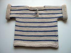 photo tricot modele tricot mariniere bebe 10