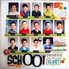 School Years - Scrapbook.com