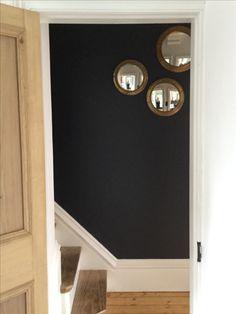 Repainted the hall (again) Bathroom Lighting, Wall Lights, Mirror, Furniture, Home Decor, Bathroom Light Fittings, Homemade Home Decor, Appliques, Mirrors