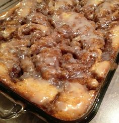 A buttery brown sugar and cinnamon mixture is swirled into a white cake and topped with a glaze in this recipe for Cinnabon(R) roll cake. Ingredients : 3 cups flour 1/4 tsp salt 1 cup sugar