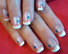 a patriotic salute by aliciarock - Nail Art Gallery nailartgallery.nailsmag.com by Nails Magazine www.nailsmag.com #nailart