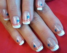 a patriotic salute by aliciarock - Nail Art Gallery nailartgallery.nailsmag.com by Nails Magazine www.nailsmag.com #nailart