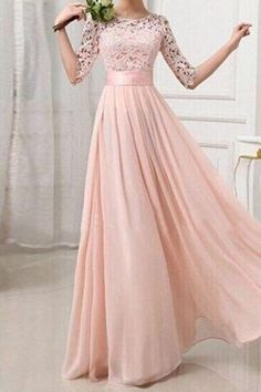 Hot Sale Absorbing Bridesmaid Dresses With Sleeves Lace Bridesmaid Dresses, Long Sleeve Bridesmaid Dresses, Long Bridesmaid Dresses, Chiffon Bridesmaid Dresses, Cheap Bridesmaid Dresses Elegant Dresses, Beautiful Dresses, Gorgeous Dress, Pretty Dresses For Women, Cheap Bridesmaid Dresses, Maxi Dresses, Dress Prom, Party Dress, Fashion Dresses