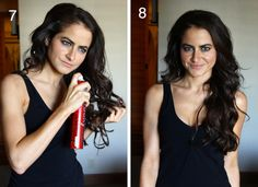 Big wavy hair tutorial. Going to try this for this weekend!