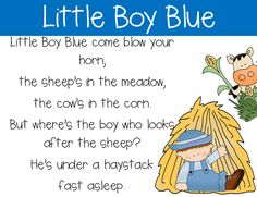 ABC Book of Nursery Rhymes and Poems from Pocketful of Centers on ...