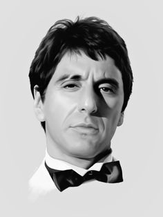 Antonio Montana Scarface Poster, Scarface Movie, Carlo Gambino, The Godfather Wallpaper, Nba Pictures, Lion Illustration, Mafia Gangster, Stoner Art, Funny Caricatures