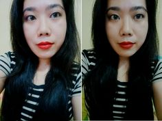 Revlon Matte Lipstick in In The Red   Review, Photos, Swatches