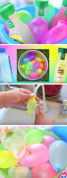 Make a Water Balloon Cooler | 22 DIY Summer Life Hacks for Teens that everyone needs to know!