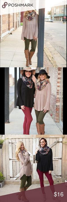 PoshLoveFest HP12/6Olive Soft Knit Leggings! Amazing Comfort & Style in these Olive Soft Brushed Knit Leggings! Super Cute with a Baby Doll Tunic. These fit S-L very nicely & are favorites among buyers. Color: Olive. Boutique Pants Leggings