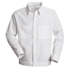 Men's Button-Front Shirt Jacket | Automotive Uniforms offer fast and free shipping with any purchase of $48 or more