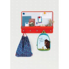 Forget Me Not  Tidy Books Family Notice Board | Family planner and organiser in red  #tidybooks