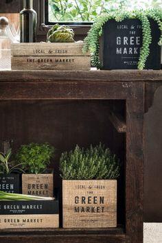 Деревянный поднос | H&M