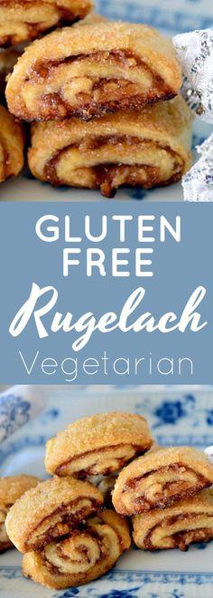 Rugelach - Now Find Gluten Free Gluten Free Rugelach Recipe Gluten Free Pastry, Gluten Free Sweets, Gluten Free Cakes, Gluten Free Cooking, Gluten Free Recipes, Gluten Free Rugelach Recipe, Pastry Recipes, Dessert Recipes, Keto Desserts