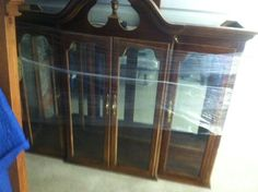 Here is the top of a China cabinet COR Movers Moved recently. It was VERY heavy and bulky. Cormovers.com