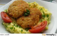 Mleté řízky s Nivou Grains, Rice, Meat, Chicken, Food, Meals, Yemek, Laughter, Buffalo Chicken