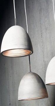 Benjamin Hubert | Viore concrete pendants