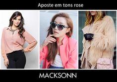 Os tons rose são forte tendência nesse inverno, assim como outras cores claras. Invista na camisa Macksonn e entre nessa onda!