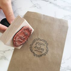 Packaging Ideas Discover Custom Logo Stamp for Your Small Business Etsy Shop Custom Logo Stamp Stamp for Packaging or Shipping Brand Stamp Wood Mounted Bakery Packaging, Cookie Packaging, Food Packaging Design, Packaging Ideas, Craft Packaging, Cute Packaging, Custom Stamps, Custom Logos, Tissue Paper Wrapping