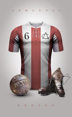 Athletic Bilbao - Leónes Vintage Clubs II on Behance - Emilio Sansolini - Graphic Design Poster