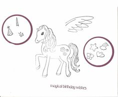 Pony Party Index by galleryindex - Cards and Paper Crafts at Splitcoaststampers