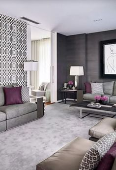 Minimalist living room is very important for your home. Because in the living room every the deeds will starts in your pretty home. findthe elegance and crisp straight Minimalist Living Room Size. Mauve Living Room, Living Room Colors, New Living Room, Home And Living, Living Room Designs, Living Room Decor, Bedroom Colors, Living Area, Living Spaces
