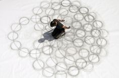 Tony Orrico's Drawings Test The Limits Of Physical Movement