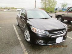 2013 Honda Accord Touring - First oil Change