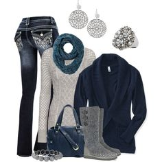 """""""Baby It's Cold Outside...in Austin!"""" by smores1165 on Polyvore"""
