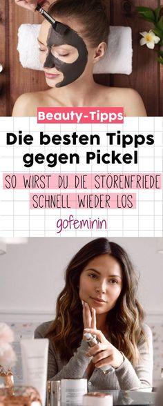 Diese Tipps helfen wirklich bei nervigen Pickeln!