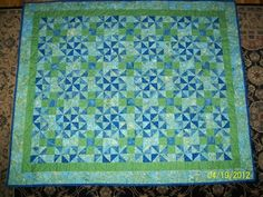 A quilt I made for my son. I love the way it turned out. :)