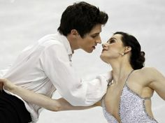 Canadian Pairs Skaters, Tessa Virtue & Scott Moir