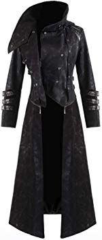 Punk Rave Scorpion Mens Coat Long Jacket Black Gothic Steampunk Hooded Trench: Amazon.co.uk: Clothing Steampunk Jacket, Gothic Steampunk, Punk Rave, Long Jackets, Scorpion, Trench, Hoods, Amazon, Coat