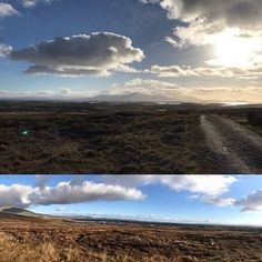 Croagh Patrick Clew Bay & The Great Western Greenway in Co. Mayo this afternoon.  @MayoDotIE  #mayo #ireland #greatwesterngreenway #greenway  #cnnweather