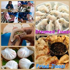 Jiaozi This food have a good taste<3<3