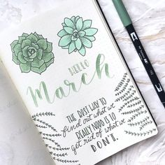 """2,472 Likes, 47 Comments - s a b i n a (@girlwithabujo) on Instagram: """"Hello Monday! I'm usually not a huge fan of green colors but this  #tombowdualbrushpen in the color…"""""""