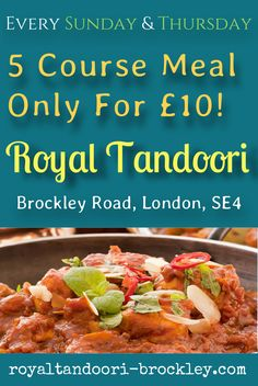 Best Indian Takeaway in Lewisham, London SE4. We deliver to Brockley, Ladywell, Nunhead, Peckham & Catford.