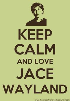 I love book jace, movie jace is just not as awesome