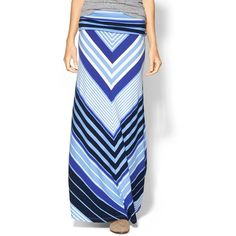 Hive & Honey Foldover Knit Maxi Skirt