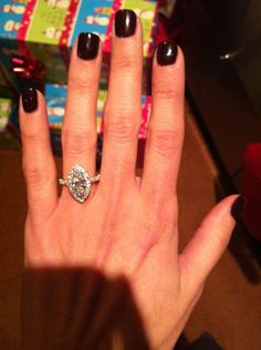 this is the exact diamond ring Kirk is going to get when he upgrades my wedding diamond and band :D!