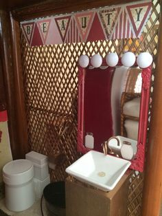 1:6 scale doll furniture - Bathroom