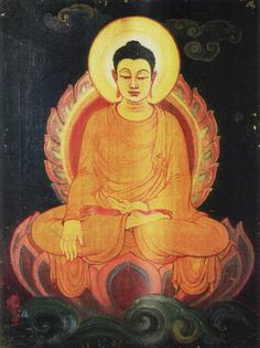 """Sujata and Buddha Painting 