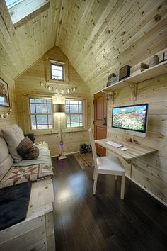 Tiny Tack House - super cute and efficient!