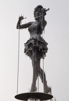 Massive Metal Sculptures by Park Chan Girl - You Arts - Quora