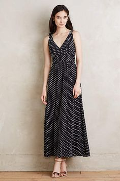 Sewing inspo: Clipdot Maxi Dress - anthropologie.com