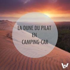 Bordée par l'océan Atlantique, la Dune du Pilat figure parmi les lieux les plus visités du Sud-Ouest. Effectivement, ce coin de France vous transportera dans un autre monde ! Pour en savoir davantage sur ce petit paradis, nous vous donnons tous nos conseils pour visiter la Dune du Pilat en camping-car ! Le Pilates, Excursion, Camping Car, France, Destinations, Celestial, Beach, Water, Outdoor