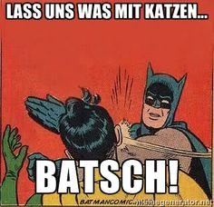 batman slap robin - Lass uns was mit Katzen... BATSCH!