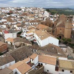 Preciosas vistas delde el castillo de Baños de la Encina by viajando_imagenesysensaciones